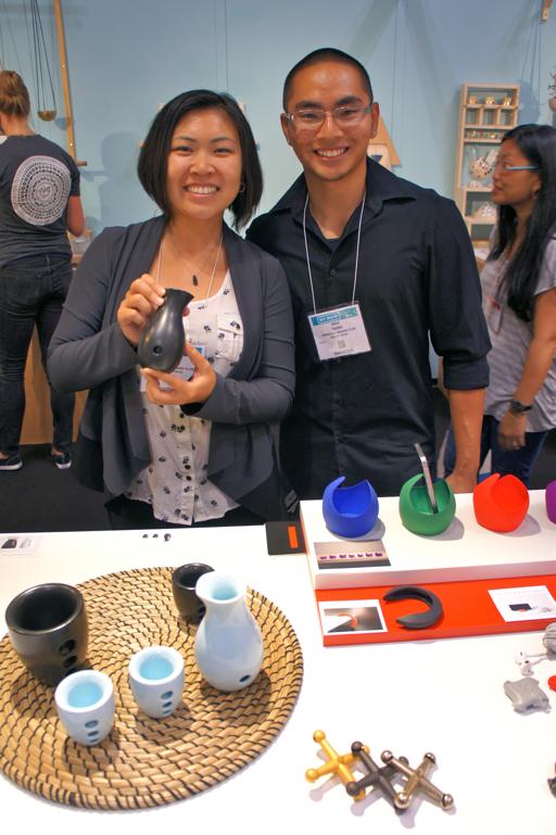 Susan & Eric Taing bhold 3d printing