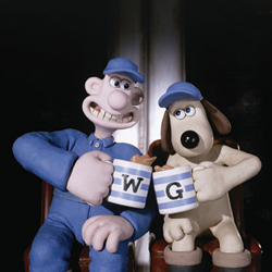 aardman's video game characters to be 3D printed with Things3D