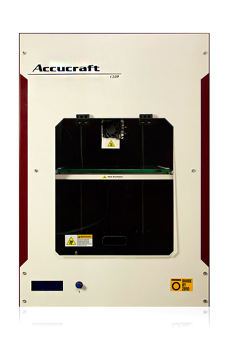 accucraft i250 3d printing