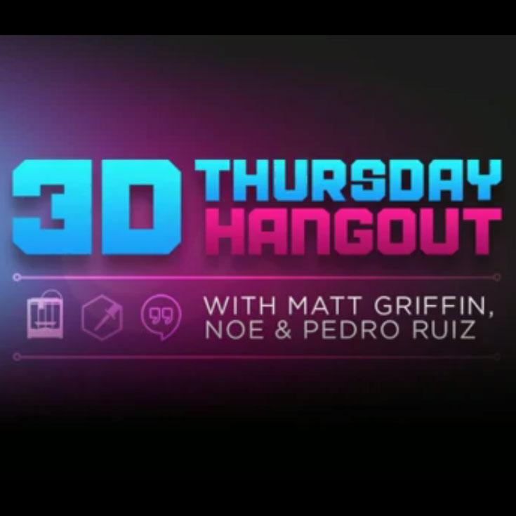 adafruit 3d printing hangout