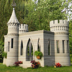 andrey rudenko 3D printed concrete castle