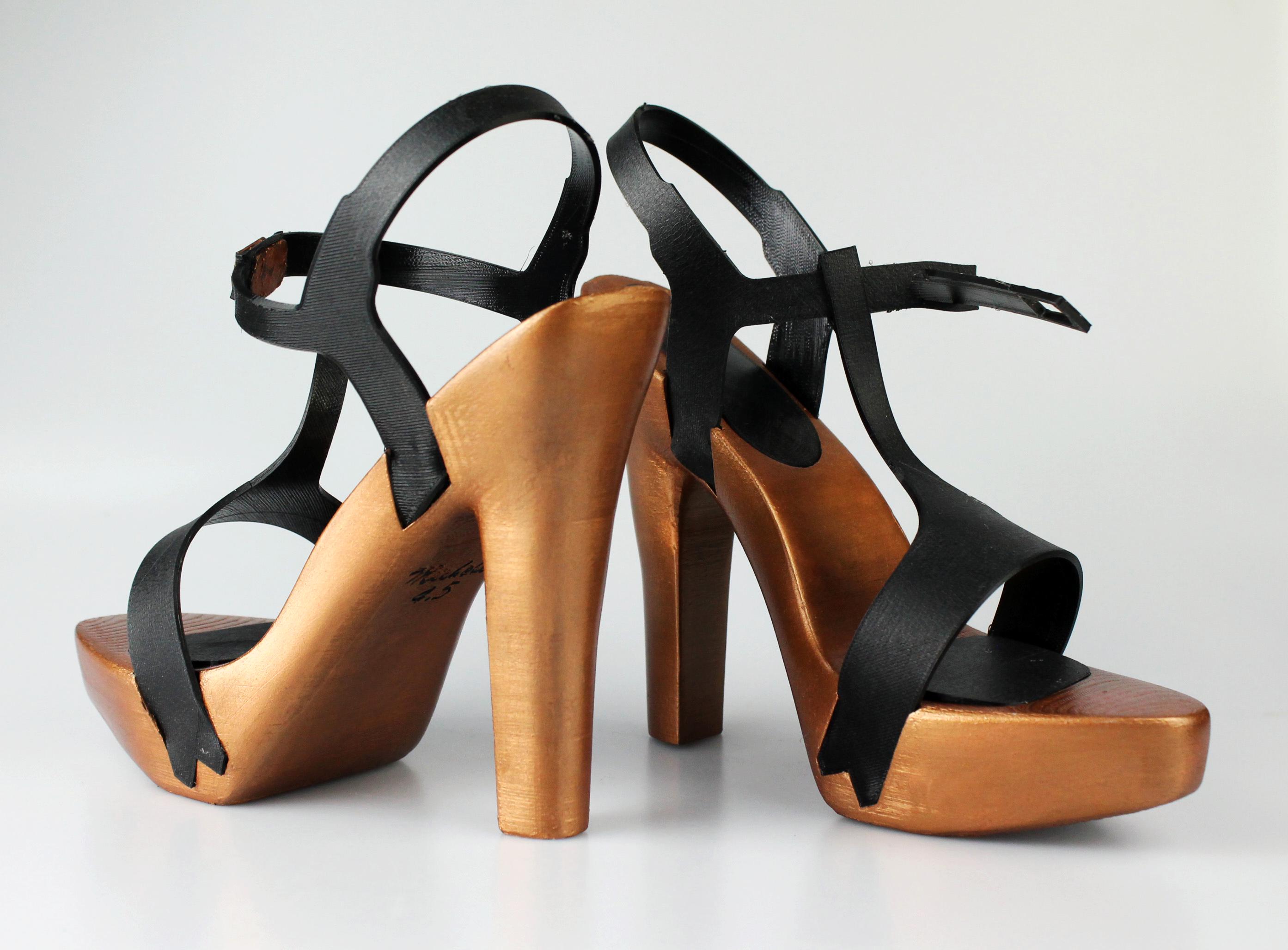 Italian Designer S Sensual 3d Printed High Heel Shoe 3d