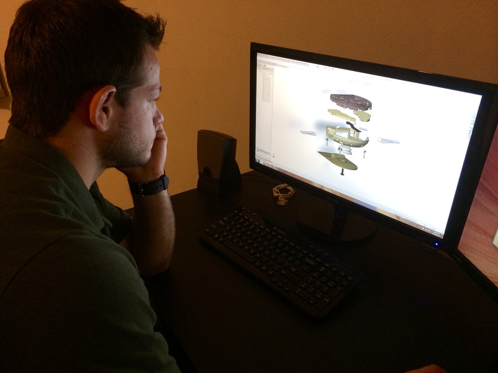 cad working 3d printing