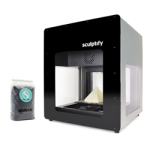 david 3D printer from sculptify on kickstarter