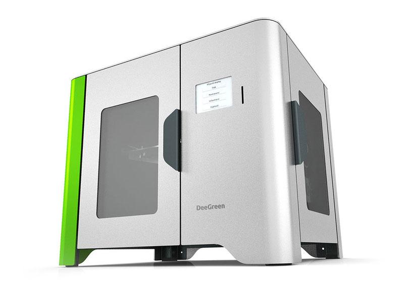 dee green 3d printer