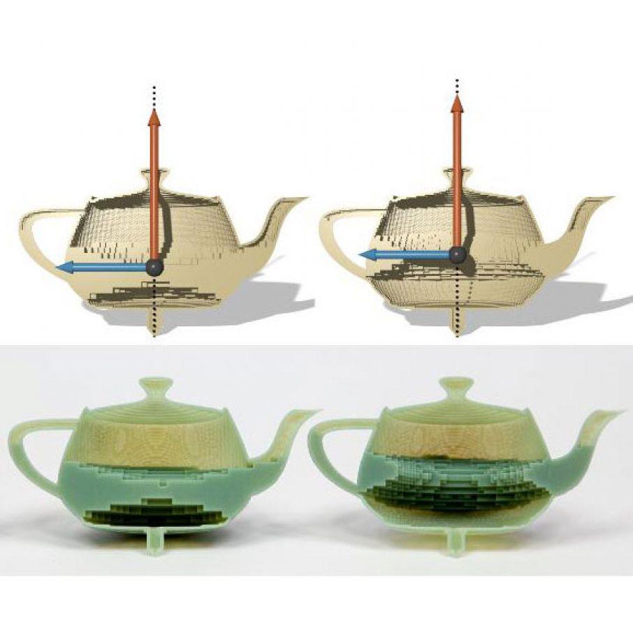 disney 3d printing teapot hollow