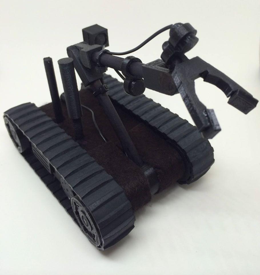 eod life 3d printing robot