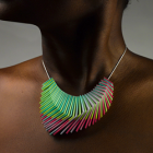 Gradient x FF Full Color 3D Printed Jewelry on Cubify