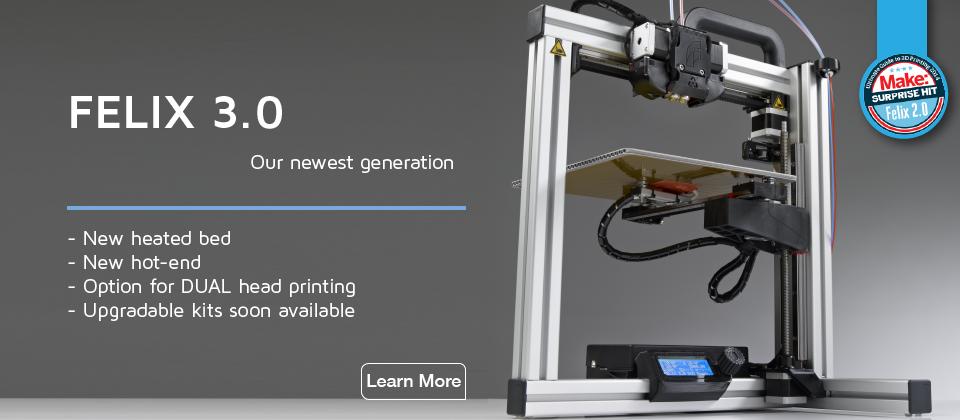 felix 3.0 3D printer