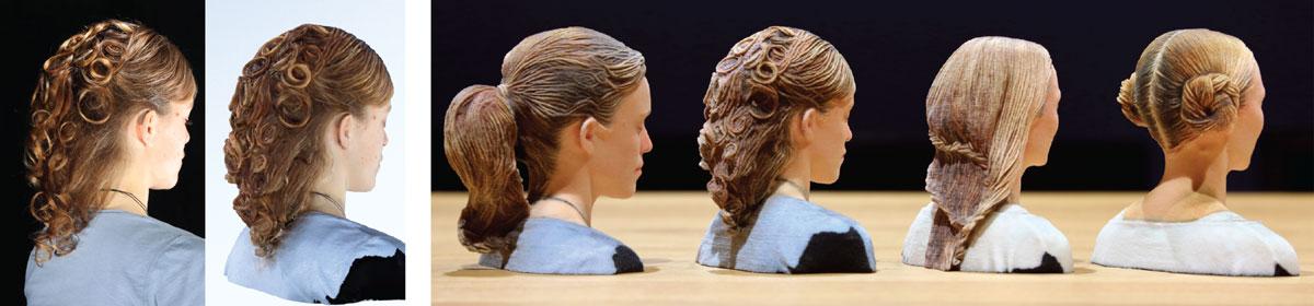 hair 3d printing disney