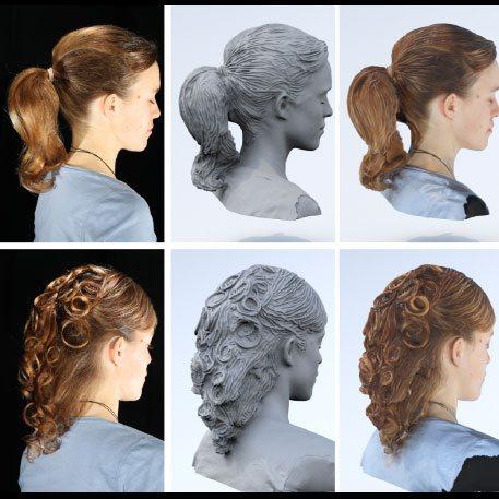 Disney Finally Cracks 3d Printed Hair 3d Printing Industry