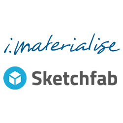 i.materialise adds sketchfab to its 3D printing marketplace