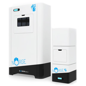 ice9 and ice1 selective laser 3D printer from norge systems