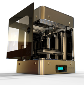 ion core zinter pro desktop 3D printer for airbus
