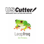 leapfrog 3D printer and uscutter partnership