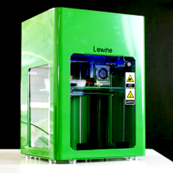 lewihe 3D printer for flexible filaments on Indiegogo