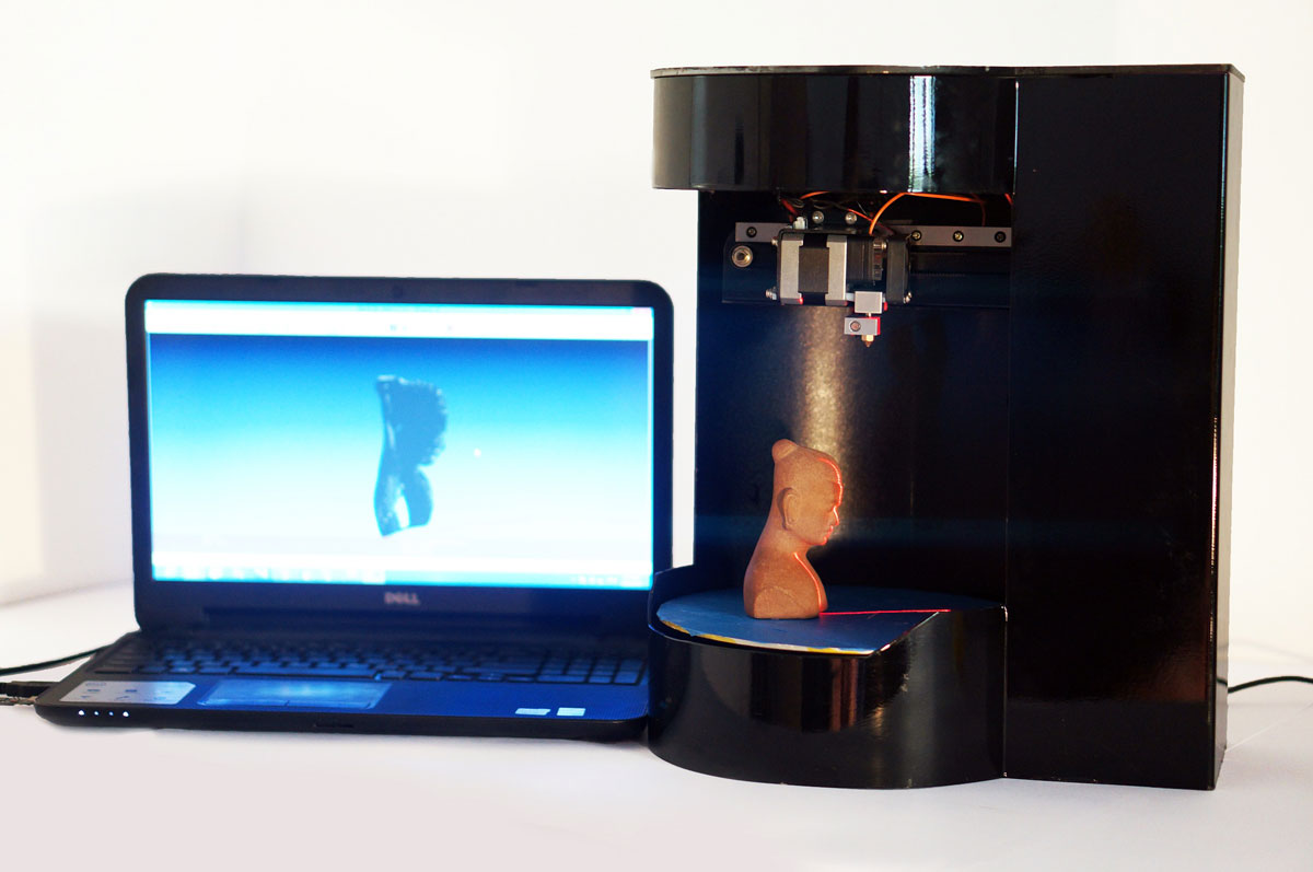 Blacksmith Genesis 3D Printer 3D Scanner