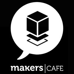 3d printing maker cafe logo
