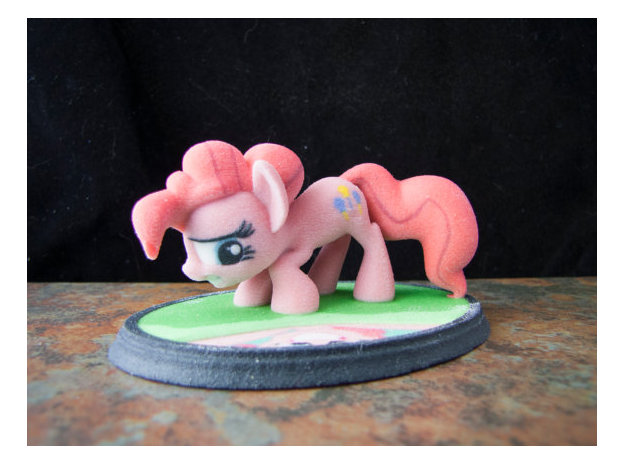 3d printing my little pony pinkie pie