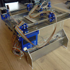 Build your Own 3D Printer that uses Powder and Ink Jet Technology