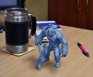 printed model gambody 3d printing