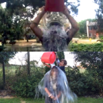 3D printing's rachel park and jason lopes perform ice bucket challenge for ALS