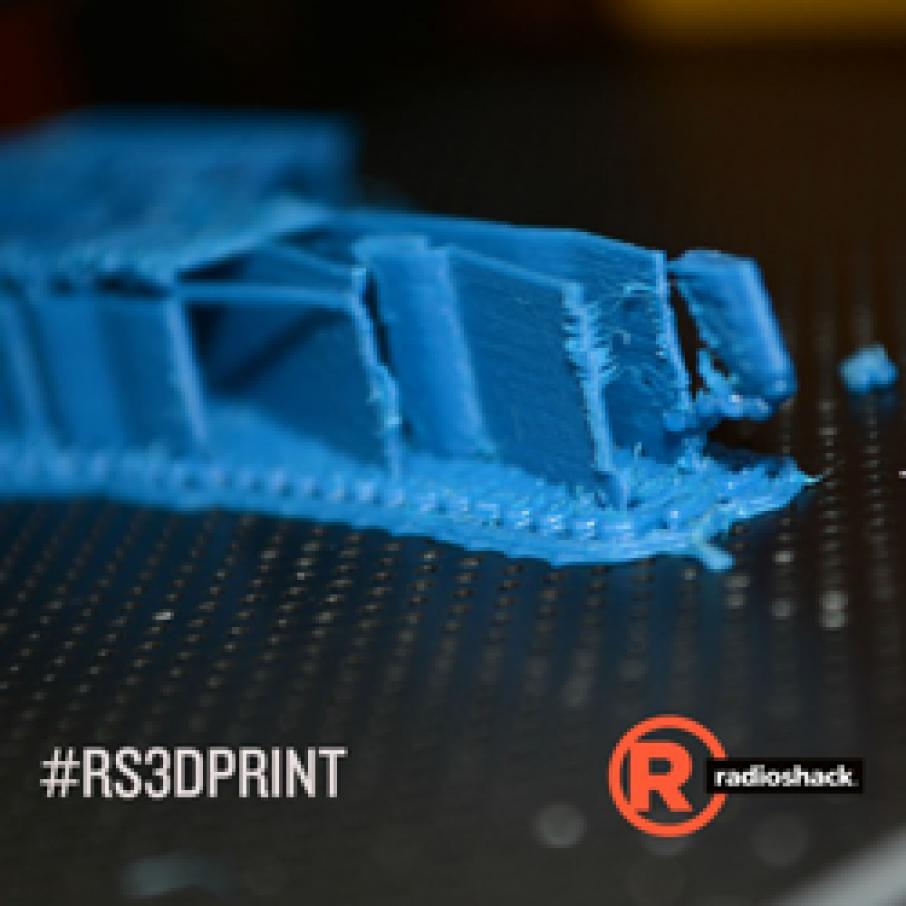 radioshack 3D printing contest
