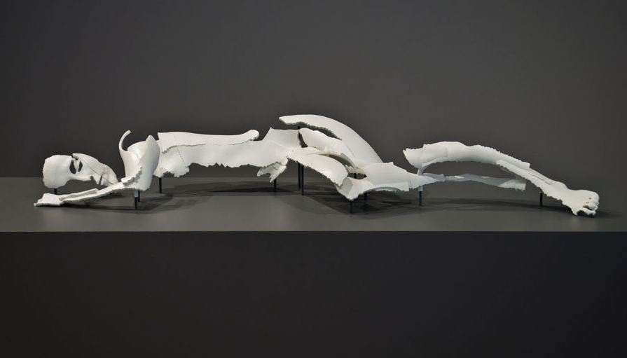fragmented bodies  3d printed reclining_woman