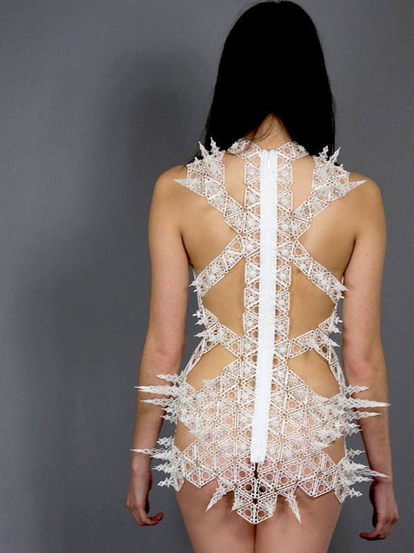 spire dress 3d printing