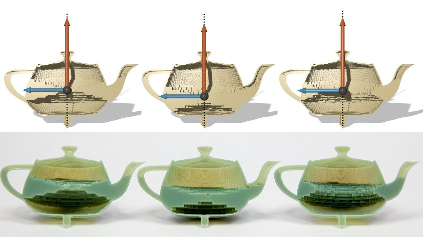 disney 3d printing teapot hollow