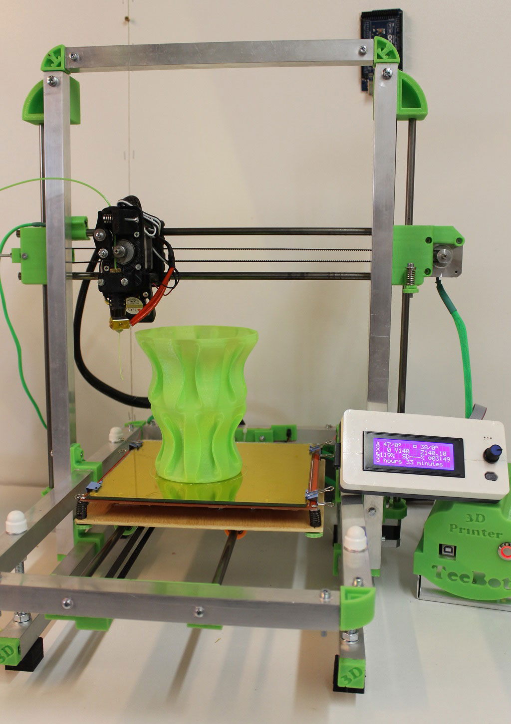 build your own foldable teebotmax 3d printer article