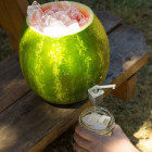 HouseholdHacker Teaches you how to Make a Watermelon Keg with a 3D Printed Tap
