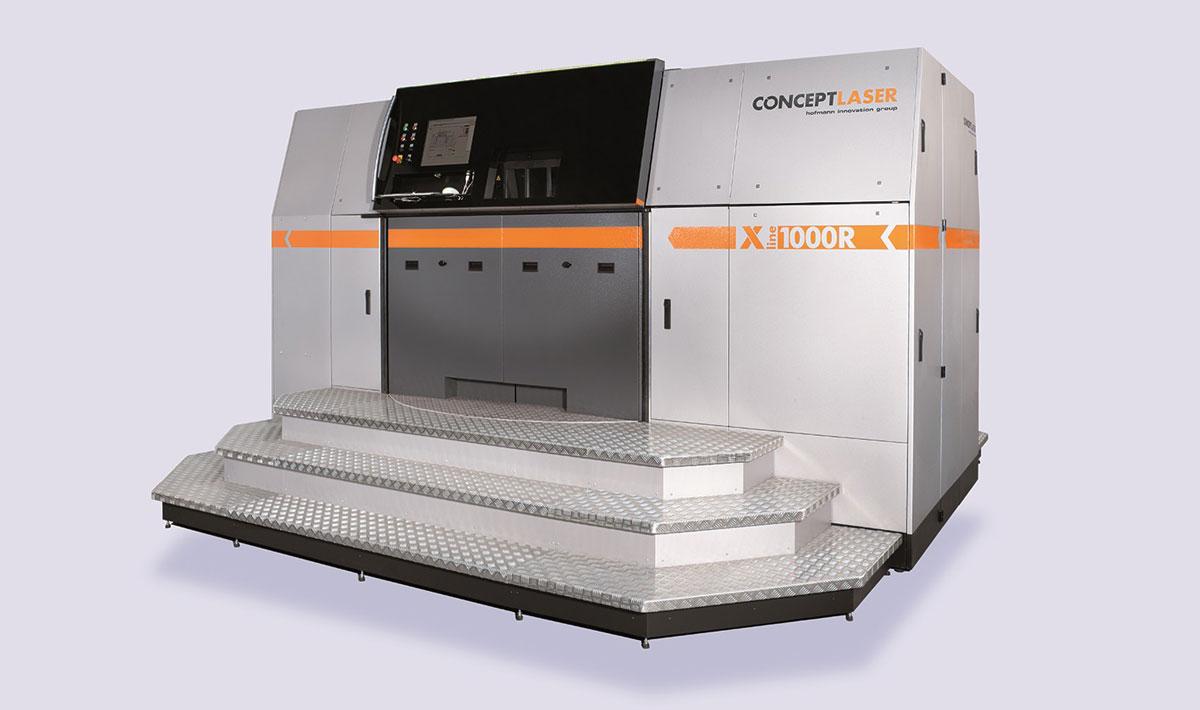 xline 3d printer concept laser