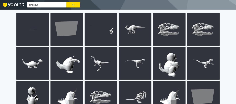 yobi3D 3D printable search