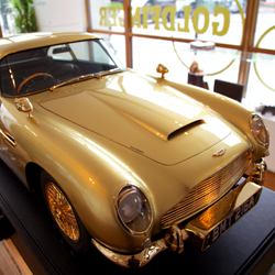 3D printed Aston Martin Goldfinger James Bond 007