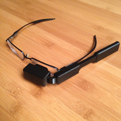 3D printed google glass for prescription glasses