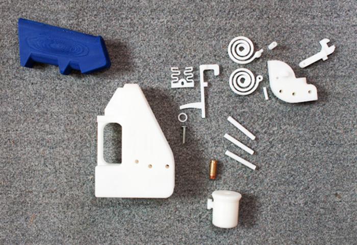 3D printed liberator gun parts