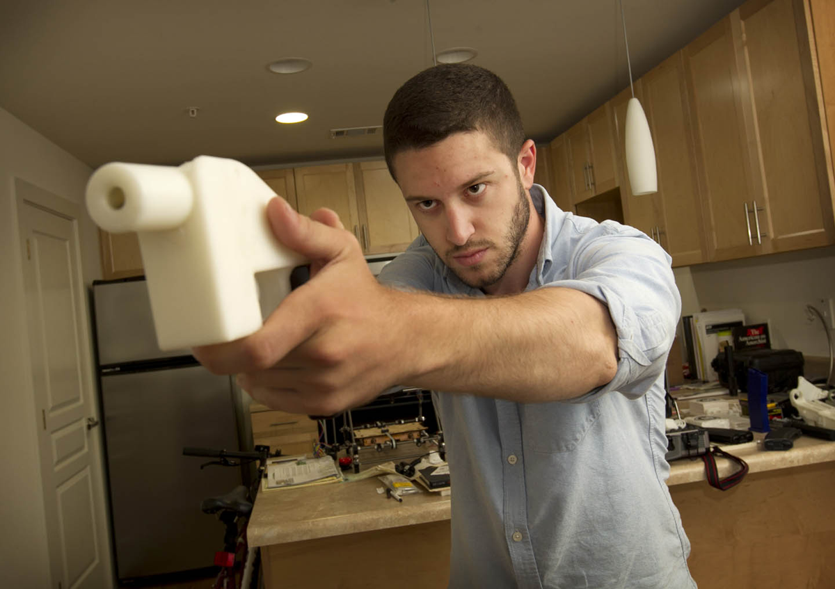 3D printed liberator gun with cody wilson
