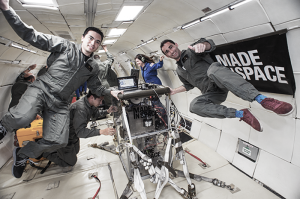 3D printing in microgravity with made in space