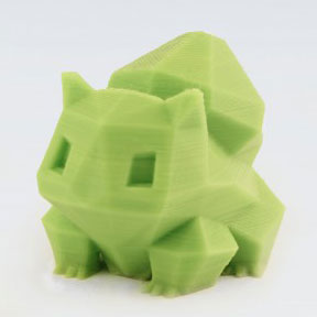 3d printing low poly pokemon
