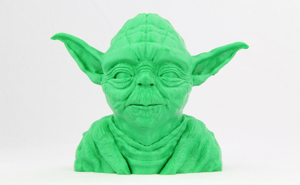 Artifex2 3d printing Yoda