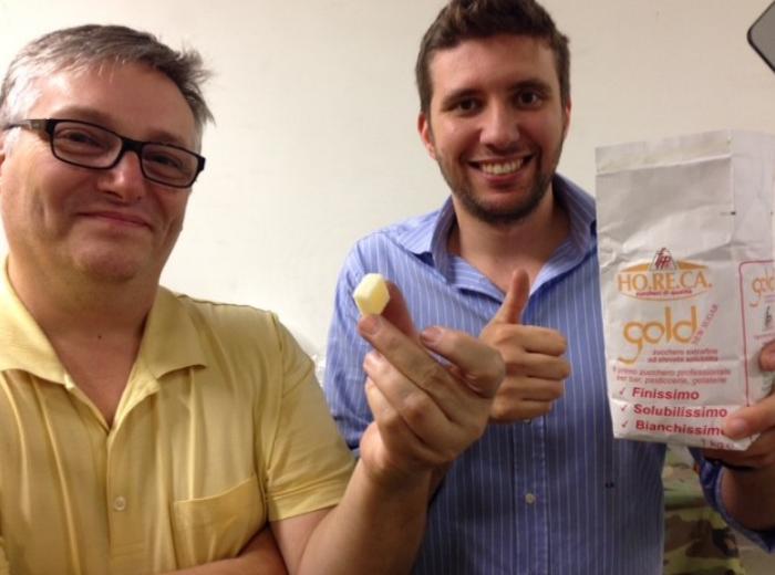 Gabriele Carloni and Andrea Radaelli ShareBot 3D Printing Sugar