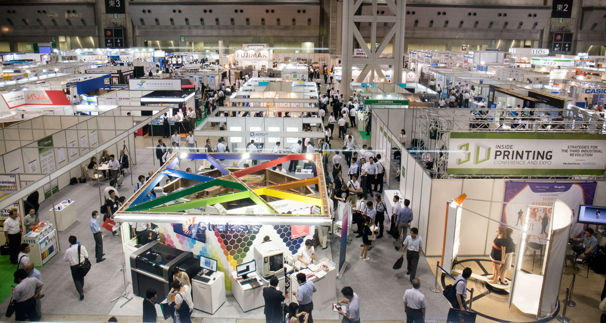 D Printing Exhibition Uk : Inside d printing event tokyo review industry
