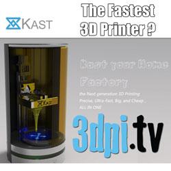 Kast 3D Printer