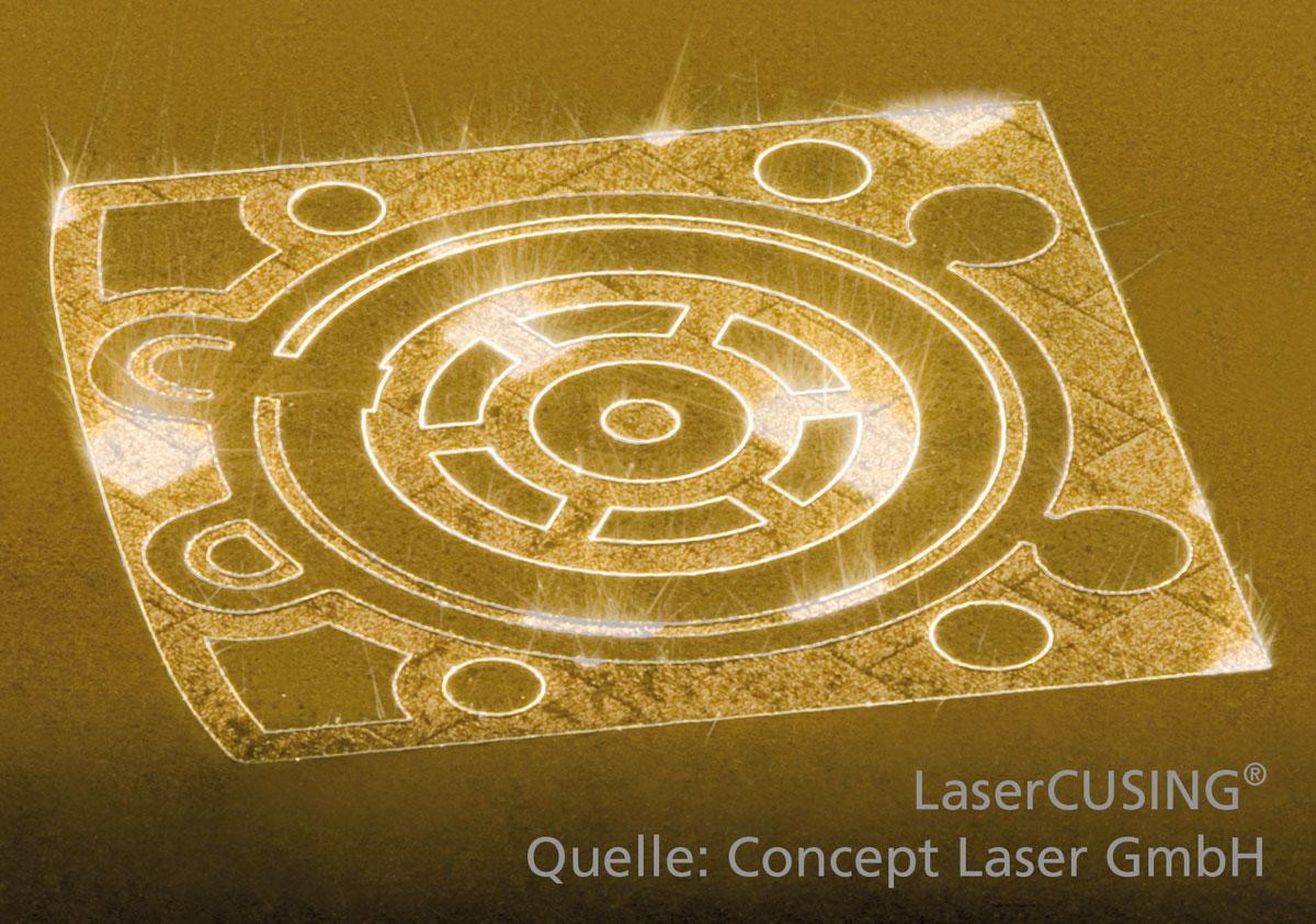 LaserCUSING Process 3d printing