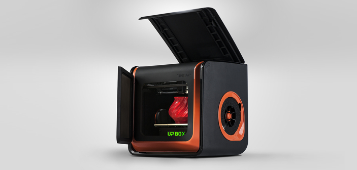 Up Box 3D printer from TierTime open