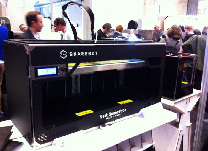 XXL sharebot 3d printer