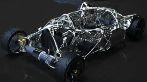 Xiphias Concept Chassis 3d printing design challenge