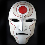 3d printerd cosplay amon_mask_painted