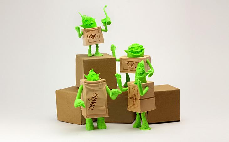 box trolls 3d printing